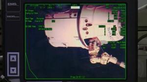 Raw video: SpaceX rocket docks with ISS