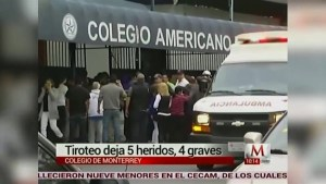 Mass shooting at Mexican private school