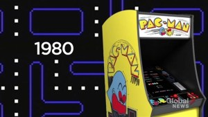 Brief history of arcade game PAC-MAN