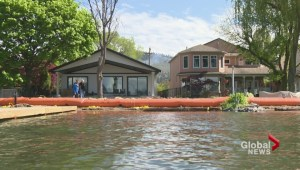 Okanagan Lake is still rising; flood prevention measures continue