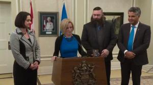 Cabinet changes in Alberta, Human Services divided