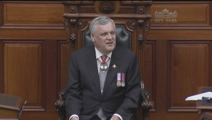 Outgoing Lieutenant Governor gets warm reception at Queen's Park