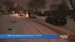 Elderly man dies shoveling driveway in Etobicoke