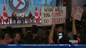 Touchdowns & Fumbles: Trudeau clashed with protestors