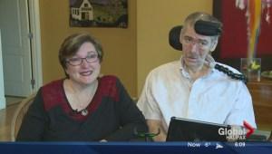 ALS patients hopeful about research at Dalhousie University