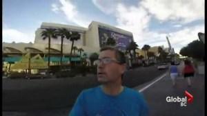 Irishman's vacation video selfie