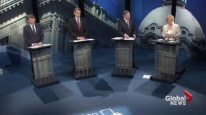 Alberta Leaders debate a coalition