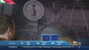 Global's Morning News previews the Shaw Road to the Grey Cup Tent
