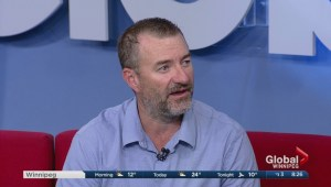 Winnipegger Tracy Garbutt shares his inspiring story on Global News Morning