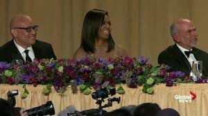 President Obama jokes it's anyone's guess who will replace him during White House Correspondents' Dinner