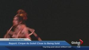 BIV: Cirque du Soleil close to being sold