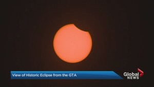 Solar eclipse keeps Toronto residents' eyes on the sky