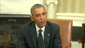 Obama: We are shaken by the shooting in Ottawa