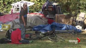 Langley homeless dilemma raises concerns for safety