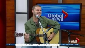 Patrick Lehman performs 'Your Man' on The Morning Show
