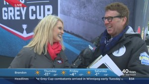 103rd Grey Cup festivities underway for football fans