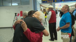 Hero's welcome as Calgary Paralympians return home