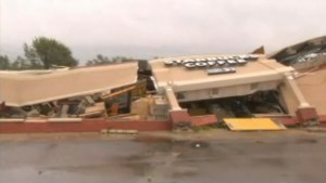 Starbucks flattened as severe weather, tornadoes wreak havoc in Indiana