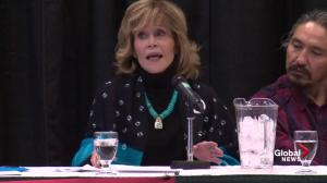 Fonda slams Trudeau: We shouldn't be fooled by good looking Liberals