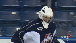 Saskatoon Blades trade Nikita Scherbak for goalie, picks