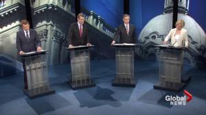 Alberta leaders debate climate change strategy