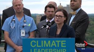 Alberta NDP introduces its carbon levy implementation bill