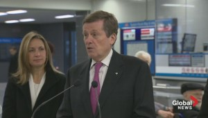 Mayor Tory pushing to modernize TTC by allowing card purchases