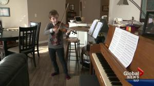 Young Edmonton musician off to NYC
