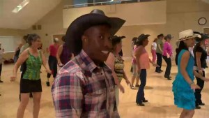 Learning the ropes: Line dancing