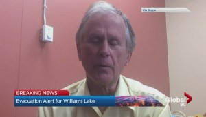 Evacuation alert continues for Williams Lake