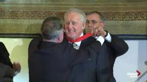 Brian Mulroney honoured by the Embassy of France