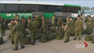Record number of wildfires in Saskatchewan forces Canadian military to step in