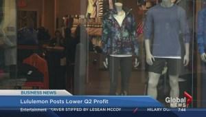 BIV: Lululemon posts lower profits