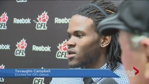 Former U of R Ram will make CFL debut against Riders
