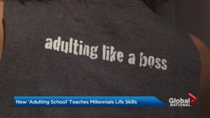 Learn to adult class teaches millennials basic life skills