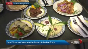 Celebrating 24 years of Greek food and culture this weekend on the Danforth