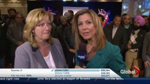 Ontario Civic Election: Brampton's Mayor-elect Linda Jeffrey speaks about her win