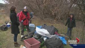 City dismantles Vernon homeless camps