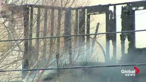 Halifax Fire services respond to large blaze in Fall River, N.S.