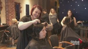B.C. hair salon holds cut-a-thon for kids