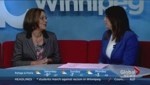What goes into a Winnipeg blue bin?