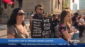 Protesters aim to disrupt climate summit
