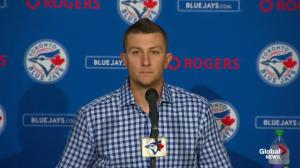 Was Troy Tulowitzki angry to be traded to the Toronto Blue Jays?