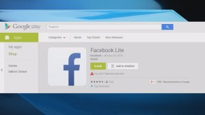 Facebook Lite keeps your data usage down