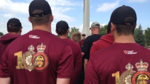 Baton relay honours fallen members of the PPCLI