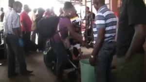 Passengers now undergoing Ebola screening at Liberia airport
