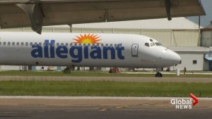 Woman says she was removed from Allegiant Airlines flight after falling asleep