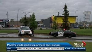 Southern Alberta communities cleaning up after Wednesday wind storm
