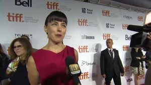 "TIFF Red Carpet: Actor Olivia Williams from the film ""Maps to the Stars"""