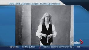Pirelli calendar uses real women as models